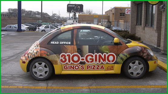Vehicle Wraps and Car Advertising Graphics 13 of 19
